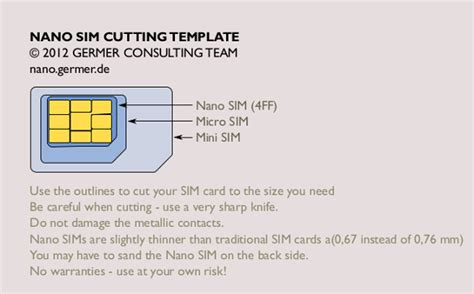 Sim Card Template Usa by Nano Sim Template Doliquid