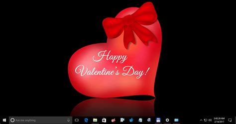 valentines themes valentine s day theme for windows 10 windows 8 and windows 7
