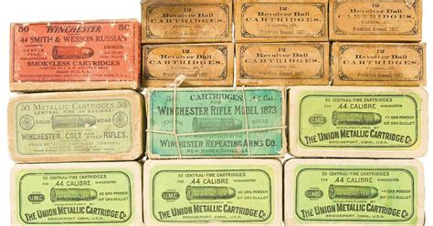 ammo and gun collector vintage and antique ammo boxes