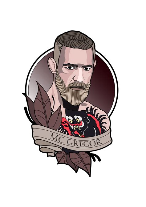 oscar rabat conor mcgregor neotraditional tattoo design
