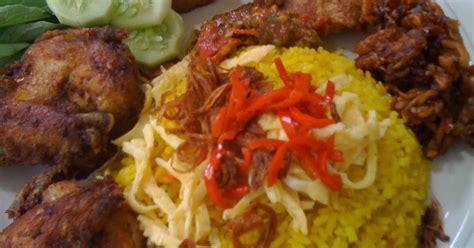 resep membuat nasi kuning dan lauknya resep cara membuat nasi kuning spesial resep masakan