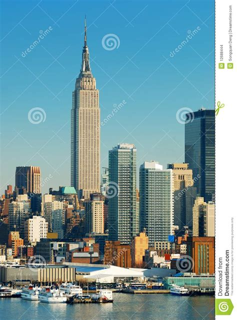 the dream boat new york times new york city empire state building editorial stock image