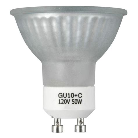 Progress Lighting 50 Watt Halogen Mr16 Gu10 Frosted Medium