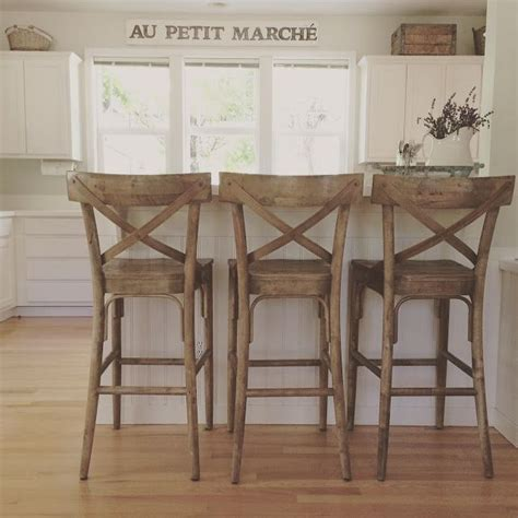farmhouse chic bar stools farmhouse kitchen simple solutions country farmhouse