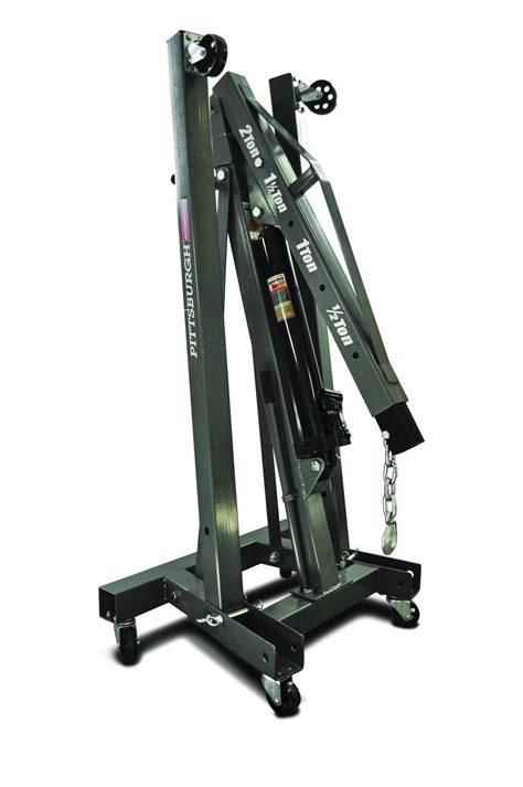 foldable shop crane  heavy lifters  easy  hemmings motor news