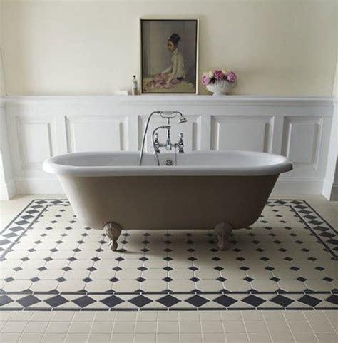 victorian style bathroom floor tiles 21 victorian black and white bathroom floor tiles ideas and pictures