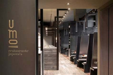 Home Interior Arch Design Umo Japanese Restaurant Hotel Catalonia In Spain
