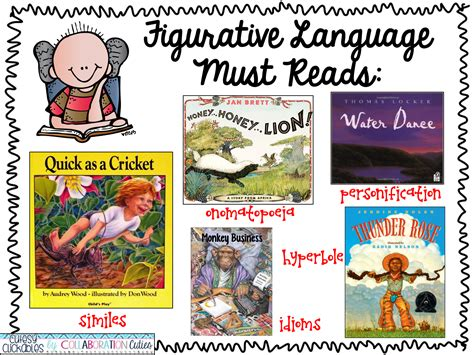 picture books with figurative language collaboration cuties figurative language with book