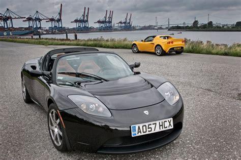 tesla lotus elise test tesla roadster gegen lotus elise sc bilder