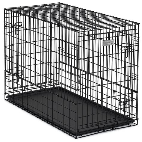 dog crate side midwest solution series side by side double door suv dog