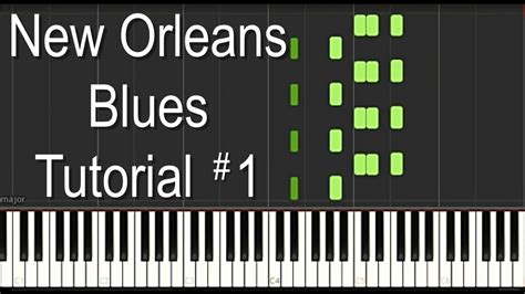 Youtube Tutorial Blues Piano | new orleans blues piano tutorial no 1 dr john