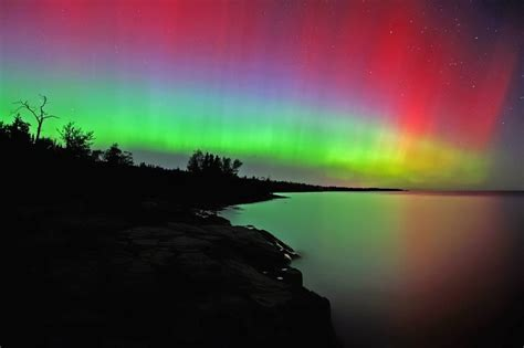 Northern Lights Duluth Minnesota