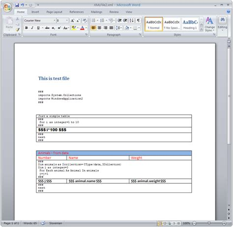 microsoft kb article template reporting embed dotnet code in ms word files codeproject