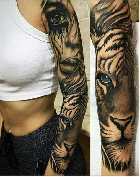 tiger tattoo sleeve designs 50 powerful ideas to enhance your personality