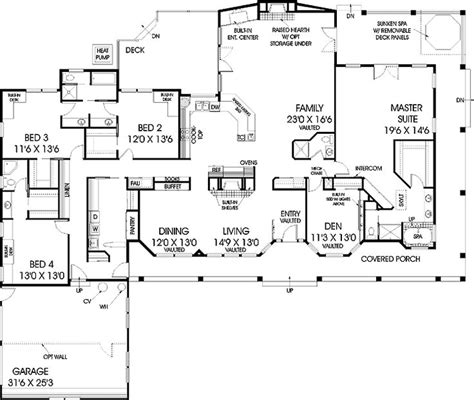 floor plan for home improvement house home plan