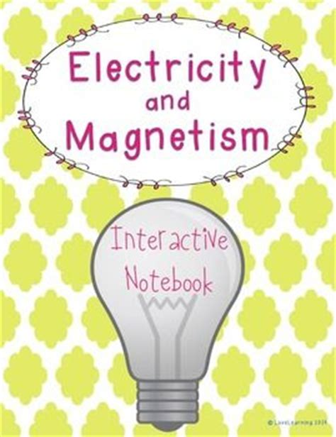 notes on recent researches in electricity and magnetism intended as a sequel to professor clerk maxwell s treatise on electricity and magnetism classic reprint books static electricity interactive notebooks and notebooks on