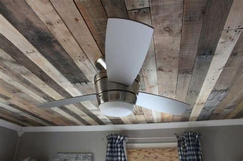 rustic pallet wood ceiling in wallpaper
