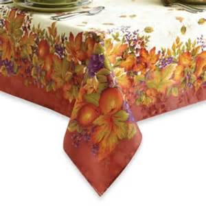 buy thanksgiving tablecloths from bed bath beyond