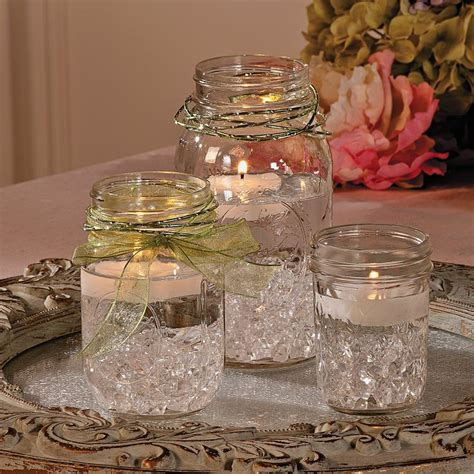 jar centerpieces best 25 water centerpiece ideas on