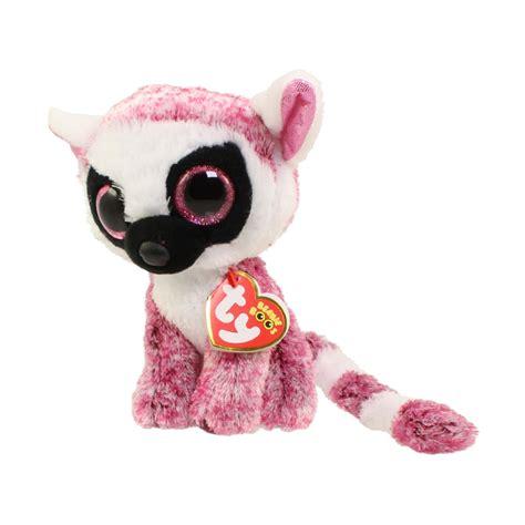 beanie boo ty beanie boos leeann the lemur glitter regular