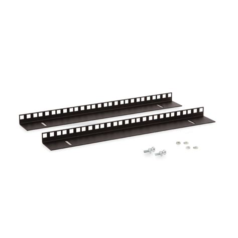 Cabinet Mounting Rail by 9u Linier Wall Mount Cabinet Vertical Mounting Rail Kit