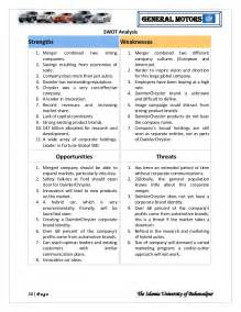 Fleet Management Report Template general motor strategic management analysis