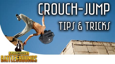 pubg jump crouch pubg crouch jump tips and tricks youtube