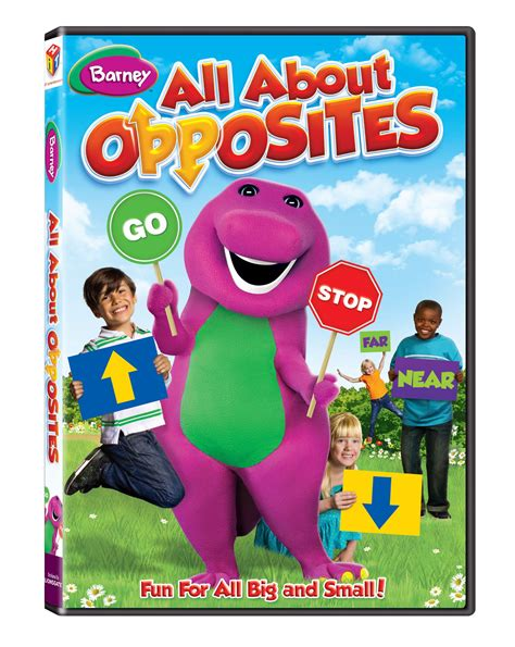 barney all about opposites dvd