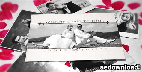 Wedding Invitation Announcement Videohive by Wedding Invitation After Effects Project Videohive
