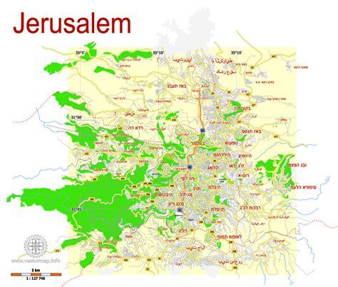 where is jerusalem on the map jerusalem israel free printable svg map hebrew