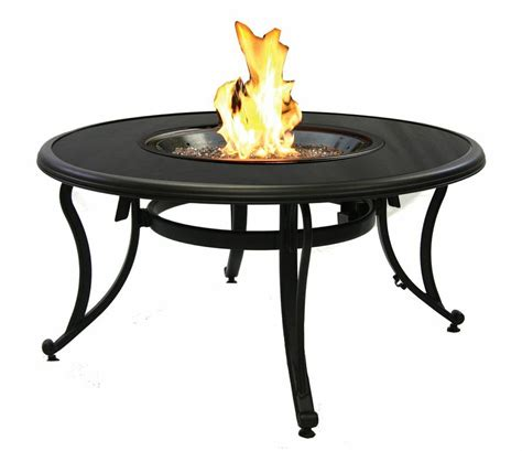 Granite Pit Table granite chat pit table sutter home hearth
