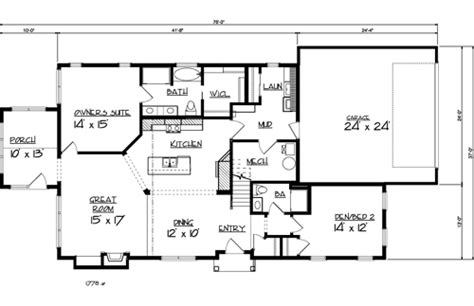 main level floor plans the aspen ll 1889 3 bedrooms and 3 5 baths the house