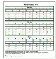 calendrier 2014 trimestriel gratuit et personnalisable