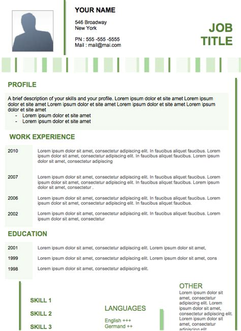 contemporary resume exles resume paper modern resume 20 exles of resumes