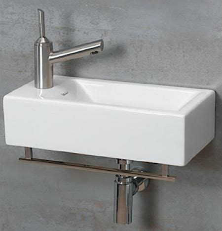 wall mounted sinks for small bathrooms 1000 images about bathroom sink hacks for tiny houses on