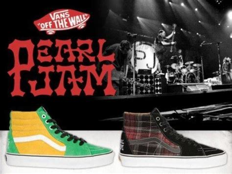 Pearl Jam X Vans vans x pearl jam shoe to benefit stronghold society and wk 4 directions skateparks juice magazine