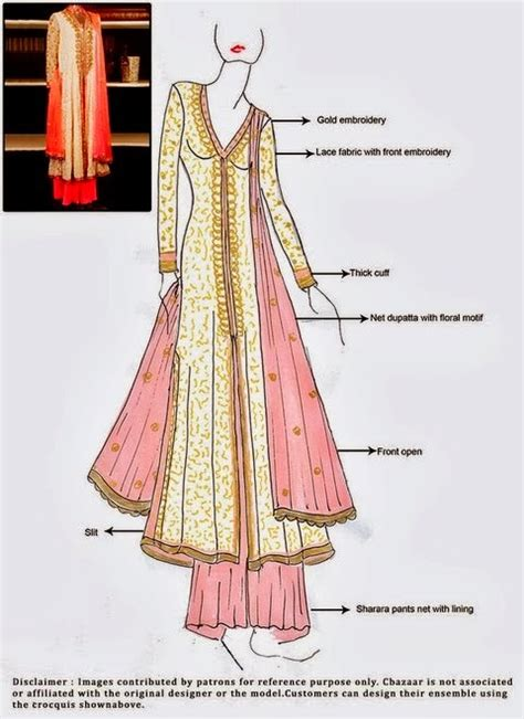 www simple frocks in tail tail frock with sharara and ghagra choli dress double