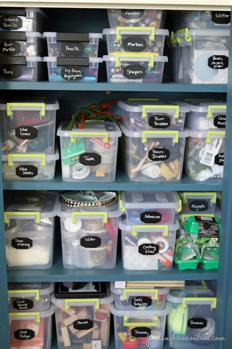 craft room supply list sorting organizing craft supplies finding home farms