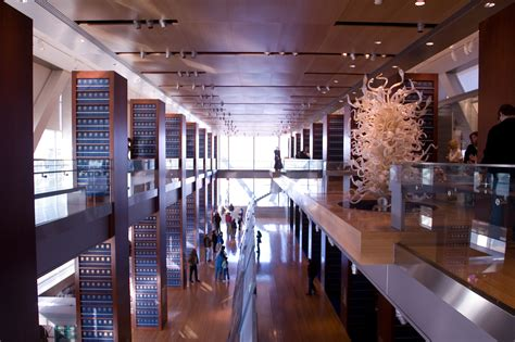 Interior Of Library by Clinton Presidential Center Celebrates Fifth Anniversary