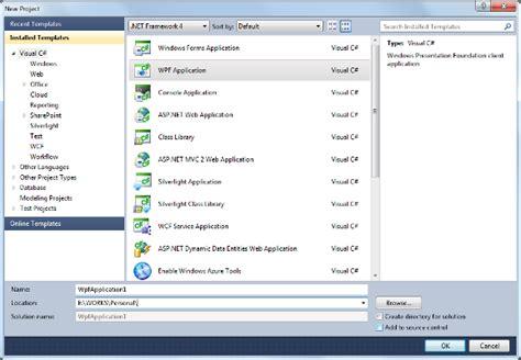 tutorial wpf web application windows presentation foundation wpf tutorial with c code