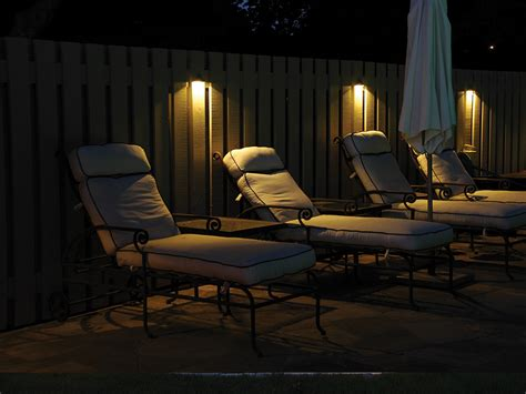 lights on fence ideas low voltage fence lighting lighting ideas