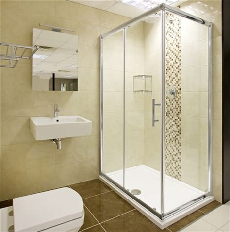 Shower Cubicles For Small Bathrooms Helene Sliding Door Shower Enclosure Hugo Oliver