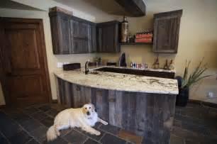 Bathroom Design Denver Reclaimed Wood Bar Traditional Kitchen Denver By