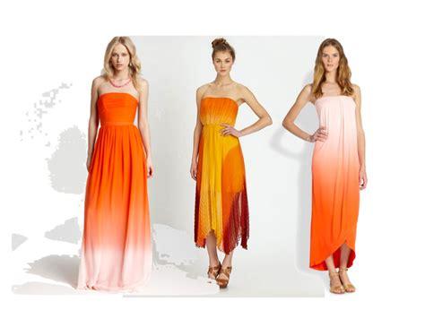 lookbook 23 trend terkini baju dan dress tona ombre