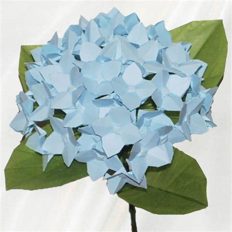 Buy Origami Flowers - buy origami hydrangea single origami flower