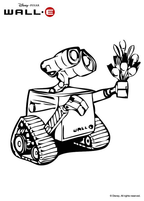 wall e coloring pages free printables downloads and activities to disney s