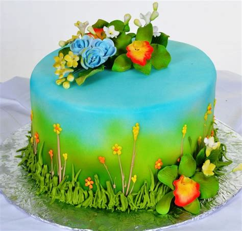 Flower Garden Cake Ideas 67401 17 Best Images About Tess Cake On Pinterest Garden Birthday Cake Birthday Cake And