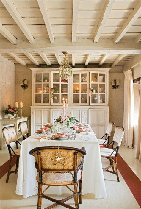 white french country christmas romantic holiday cottage