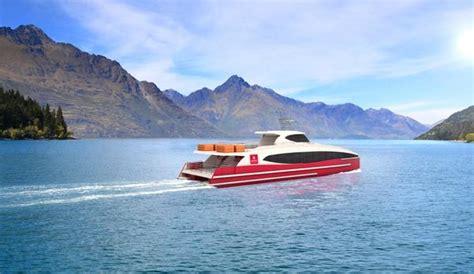 catamaran queenstown southern discoveries launches high speed catamaran tour