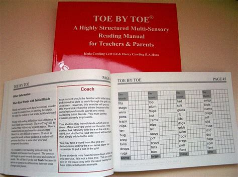 My To Toe Book toe by toe speld sa